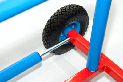 Rozwijak Nr 22 Max- uniwersalny rolkowy do rur HDPE, PE, PERT, PEX.
